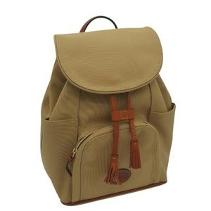 Dooney & Bourke Khaki Nylon Backpack *brand new*
